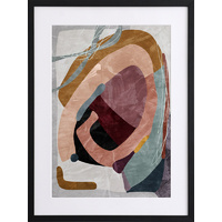 Concentric I Framed Art Print