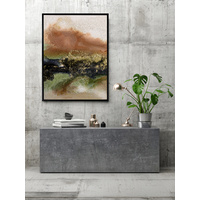 Gold Fever II Canvas Art Print