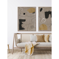 Set in Stone III Canvas Art Print