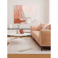 Confident Canvas Art Print