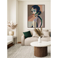 Graceful Canvas Art Print