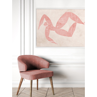 Marguerite Cut-Out III Canvas Art Print