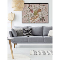 Bush Blooms Canvas Art Print