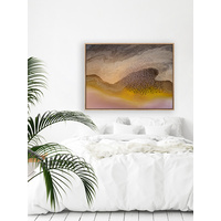 Fly By Lake Art Print