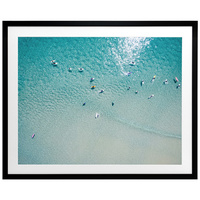 7 Mile Beach Framed Art Print