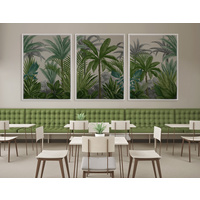 Las Palmas I Canvas Art Print