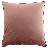 Dusty Rose Oversize Velvet Cushion
