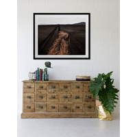 Horse Tracks Canvas Art Print