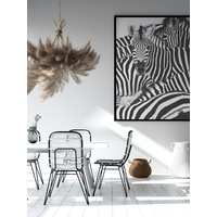 Sea of Zebras Art Print