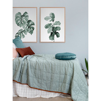 Phoenix Fiddle Leaf Poster