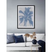 Denim Palms II Poster