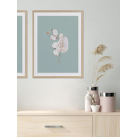 Mint Anthurium I Poster
