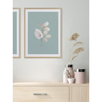 Mint Anthurium II Poster
