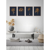 Golden Palm I Poster