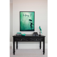 Today I Dance Canvas Art Print