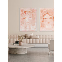 Creative Peach Canvas Art Print
