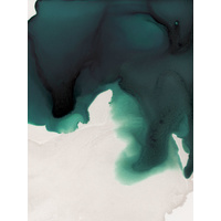 Swell Emerald Art Print