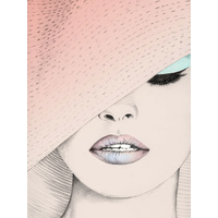 Urbane Blush Art Print