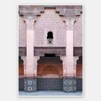 Moroccan Blush Rolled Fine Art Print
