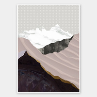 Moving Mountains I Rolled Fine Art Print