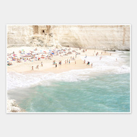 White Cliff Beach Unframed