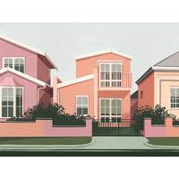 Toorak Canvas Art Print