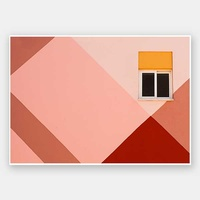 Peachy Views Unframed