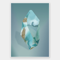 Amazonite Rolled Fine Art Print