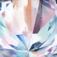 Crystal Lattice Art Print