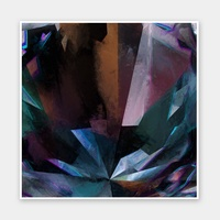 Crystal Nightshade Rolled Fine Art Print