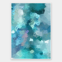 Azure Shine Rolled Fine Art Print