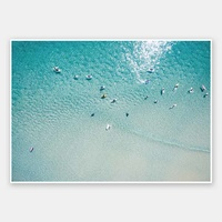 7 Mile Beach Rolled Fine Art Print