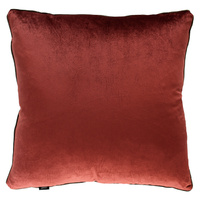 Burnt Sienna Oversize Velvet Cushion