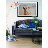 Beach Horse Framed Art Print