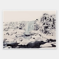 Ice Fall Rolled Fine Art Print