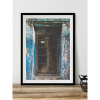 Kupiga Framed Art Print