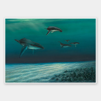 Whales Unframed