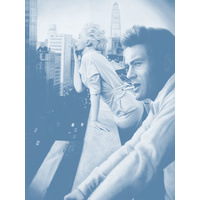 James and Marilyn Dusk Poster